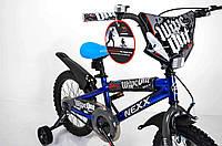 """Велосипед детский""""NEXX BOY-16""""Синий-Сплэш, фото 1"""