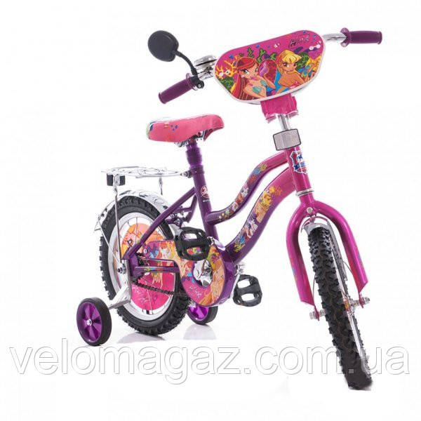 "Детский велосипед WINX 16"" мустанг"