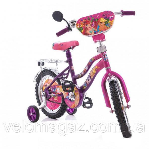 "Дитячий велосипед WINX 16"" мустанг"