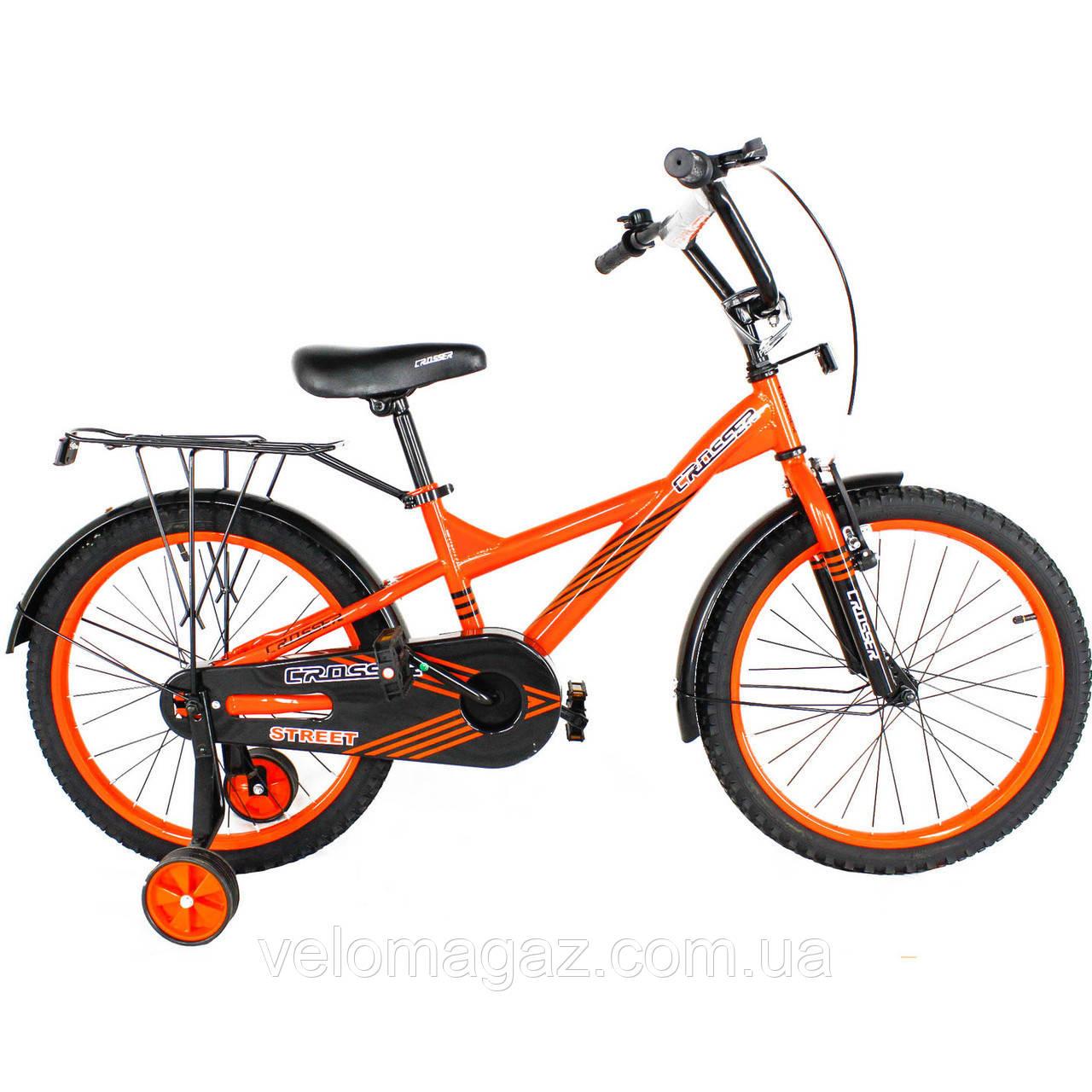 """Дитячий велосипед двоколісний STREET CROSSER-7 20"""""""