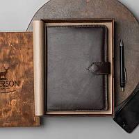 """Кожаный ежедневник """"Classic Brown"""" 810002"""