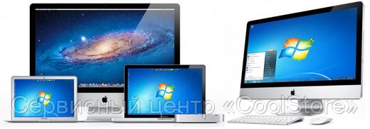 Установка Windows на Mac в Донецке