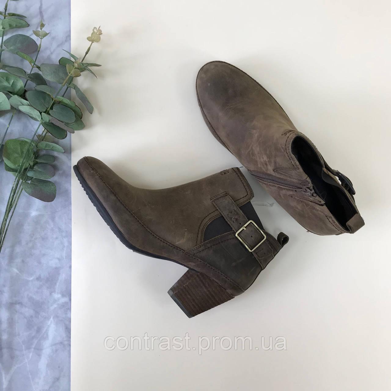 Кожаные ботинки clarks  SH1845052