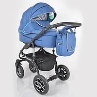 """Универсальная детская коляска 2 в 1 """"Sherry Lux"""" Blue, фото 1"""