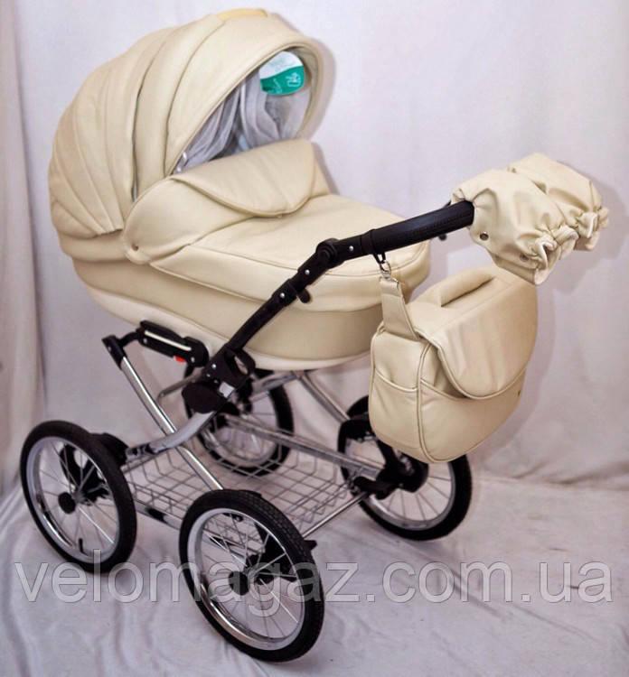 Універсальна багатофукціональна дитяча коляска Adamex Katrina ECO 2 в 1