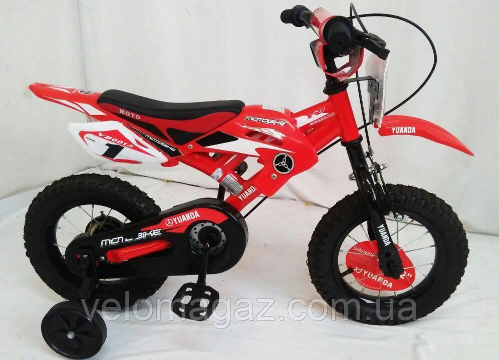 "Велосипед дитячий Sigma YUANDA YD-02 12"" Red"