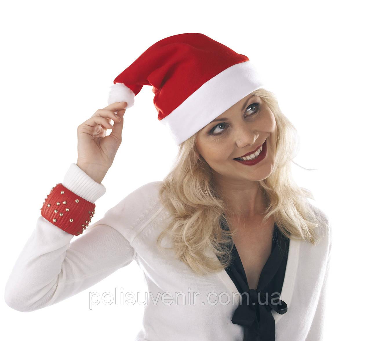 Фетрова шапка Діда Мороза