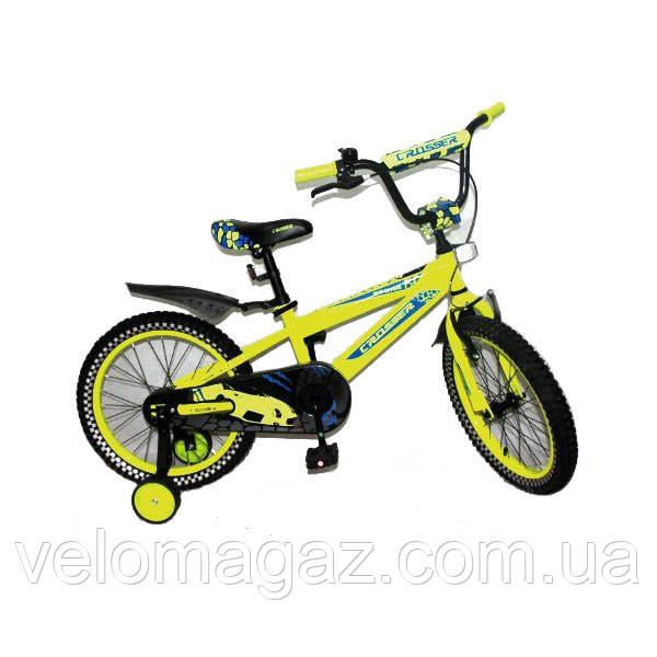"""Дитячий двоколісний велосипед STONE CROSSER-5 16"""""""