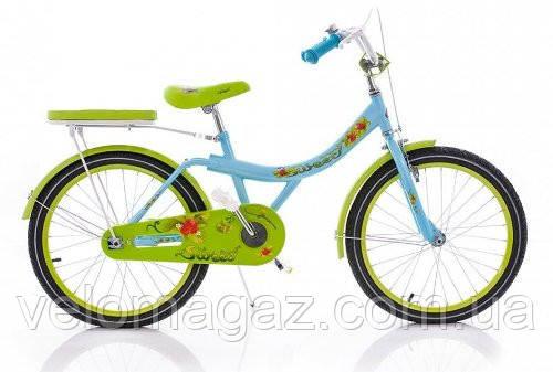 """Детский двухколесный велосипед AZIMUT STRAWBERRY 16"""""""