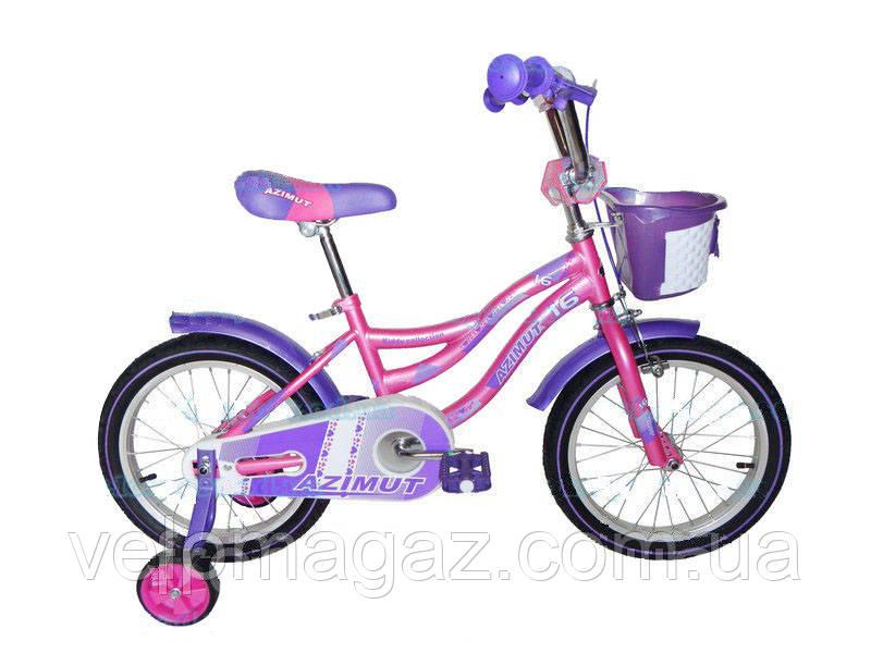 """Детский двухколесный велосипед AZIMUT KIDDY 20"""""""