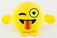 Подушка-игрушка подарок смайлик