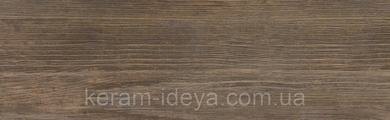 Плитка грес Cersanit Finwood 18,5x59,8 браун