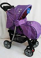 Детская коляска Sigma K-038F прогулочная  с москитной сеткой фиолетовая, фото 1