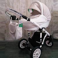 Дитяча коляска LOREX REMIX white універсальна