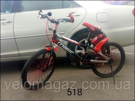 """Велосипед TopRider 518 20"""" дитячий двоколісний"""