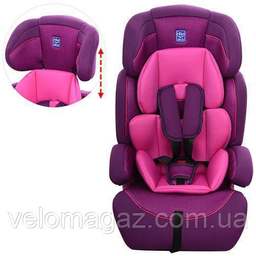 Дитяче автокрісло M 3546-4-9 фіолетовий колір
