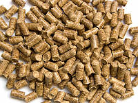 Пеллеты из соломы пшеницы