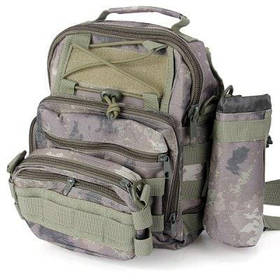 Многоцелевой водонепроницаемость Сумка Молл тактические комбинации мешок для кемпинга походы путешествия - цвет серый камуфляжный