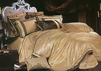 Комплект постельного белья, Жаккард с кружевом, Арагац