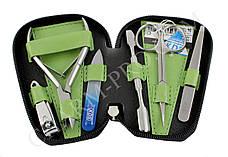 Маникюрный набор KDS 04-7103 (зеленый)