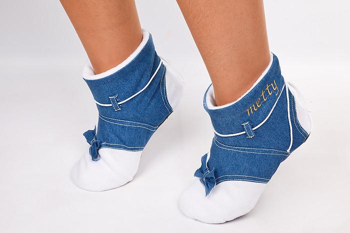Сапожки джинсовые в категории домашние тапочки женские в Украине. Сравнить  цены 07fecdf787459