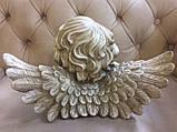 Статуэтка ангелочка из искусственного камня №28, фото 3
