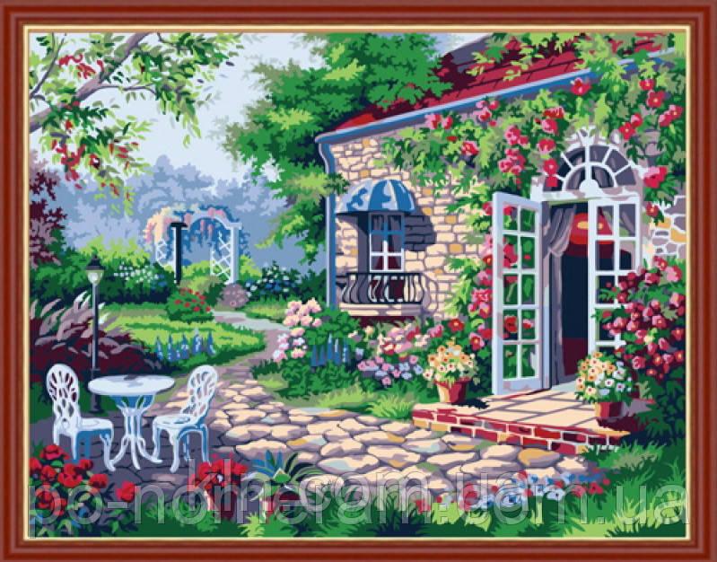 Картина по номерам Menglei MG189 Дом мечты 40 х 50 см
