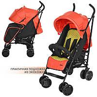 M 3419-7 PICNIC детская прогулочная коляска оранжевая, фото 1