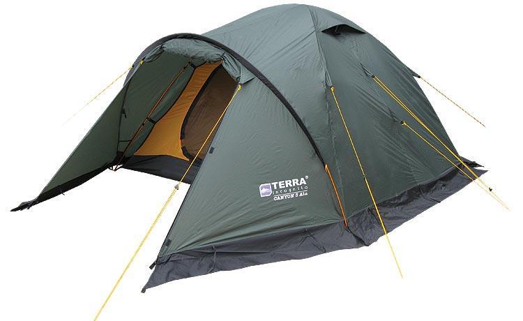 Палатка Terra Incognita Canyon 3 (тём-зелёный)
