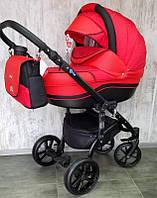 Всесезонна дитяча коляска 2 в 1 MACAN Red