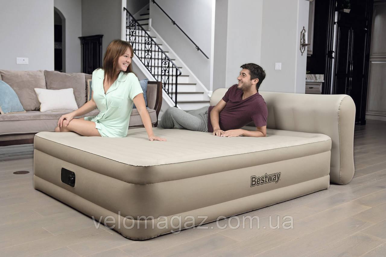 Велюровая кровать-матрас BESTWAY 69019
