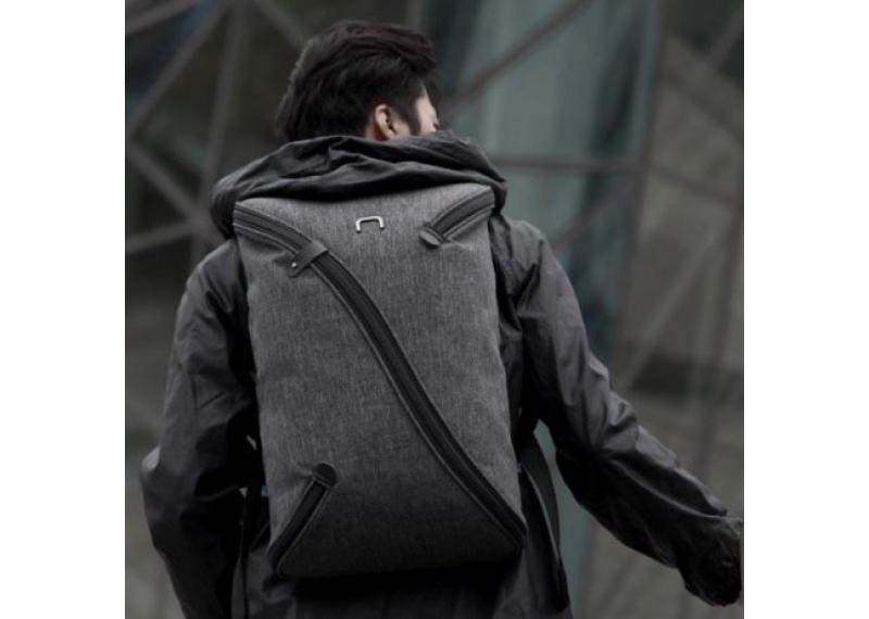 Водонепроницаемый городской рюкзак антивор NiiD UNO с USB каблем