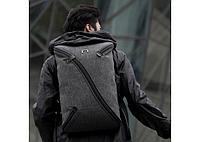 Водонепроницаемый городской рюкзак антивор NiiD UNO с USB каблем, фото 1