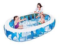 Надувной семейный бассейн - Bestway 54066