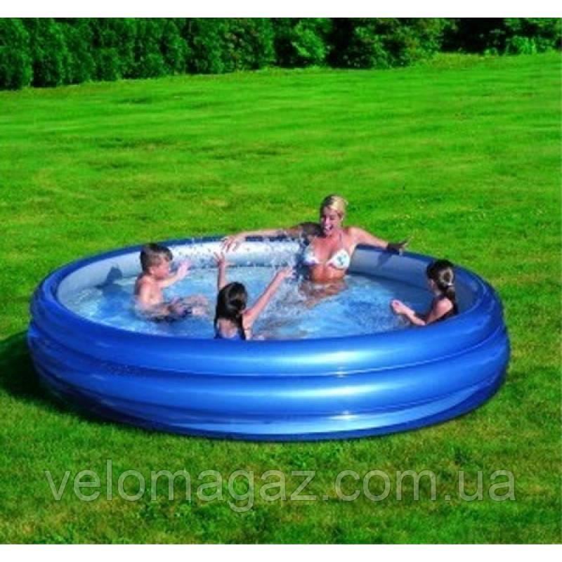 Надувной семейный бассейн  Bestway 51043