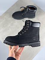 Черевики Тімберленд 6 Inch Premium Black (Черевики Timberland чоловічі і жіночі розміри 36-45), фото 1
