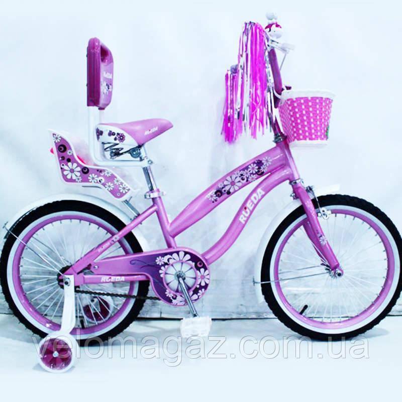 Велосипед дитячий двоколісний RUEDA 18-03B