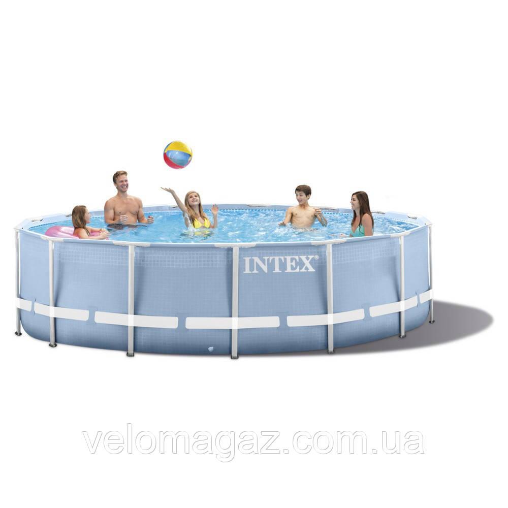 Каркасный бассейн круглый Intex 28702