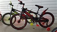 """Велосипед спортивный TopRider 533 20"""" салатовый цвет"""