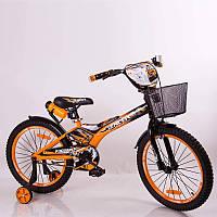 """Детский велосипед SIGMA RACER 18"""" оранжевый, фото 1"""