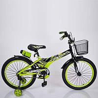 """Детский велосипед SIGMA RACER 18"""" зеленый, фото 1"""