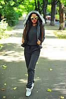 Женский теплый костюм тройка, фото 1