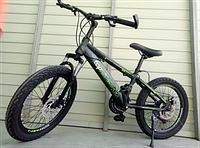 """Велосипед TopRider 509 20"""" детский двухколесный черно-зеленый, фото 1"""