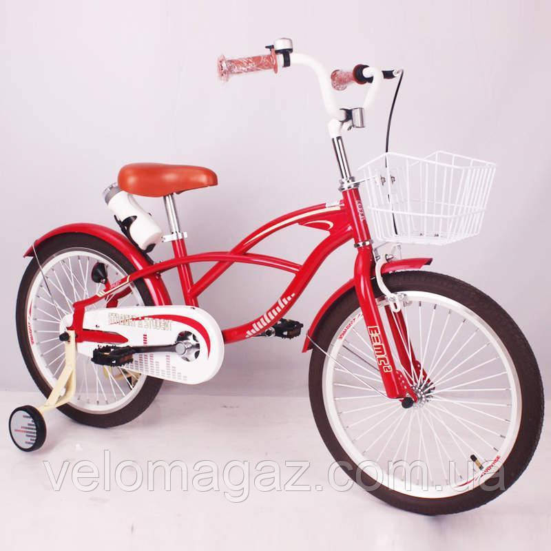 "Детский велосипед SIGMA STRAIGHT A STUDENT-20"" red"
