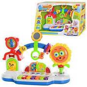 Детская развивающая музыкальная игрушка  пианино для малышей «Музыкальный городок».