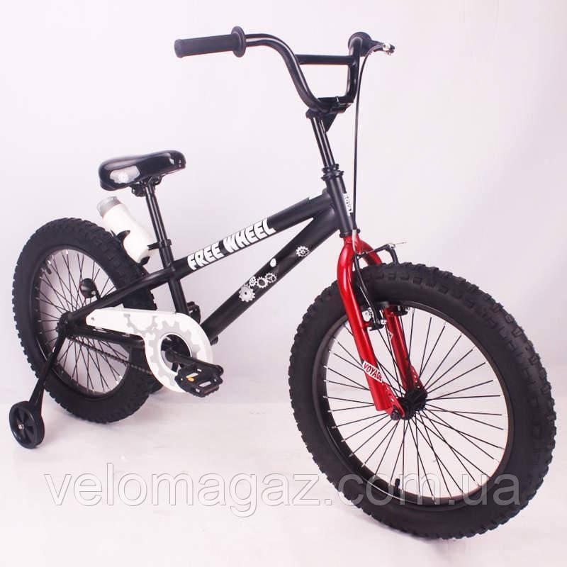 """Дитячий велосипед SIGMA FREE WHEEL-20"""" чорний"""