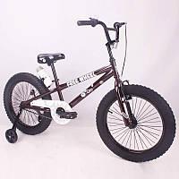 """Детский велосипед SIGMA FREE WHEEL-20"""" кофейный, фото 1"""