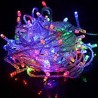 Новогодняя светодиодная гирлянда NY 300 мульти 300Led, фото 1