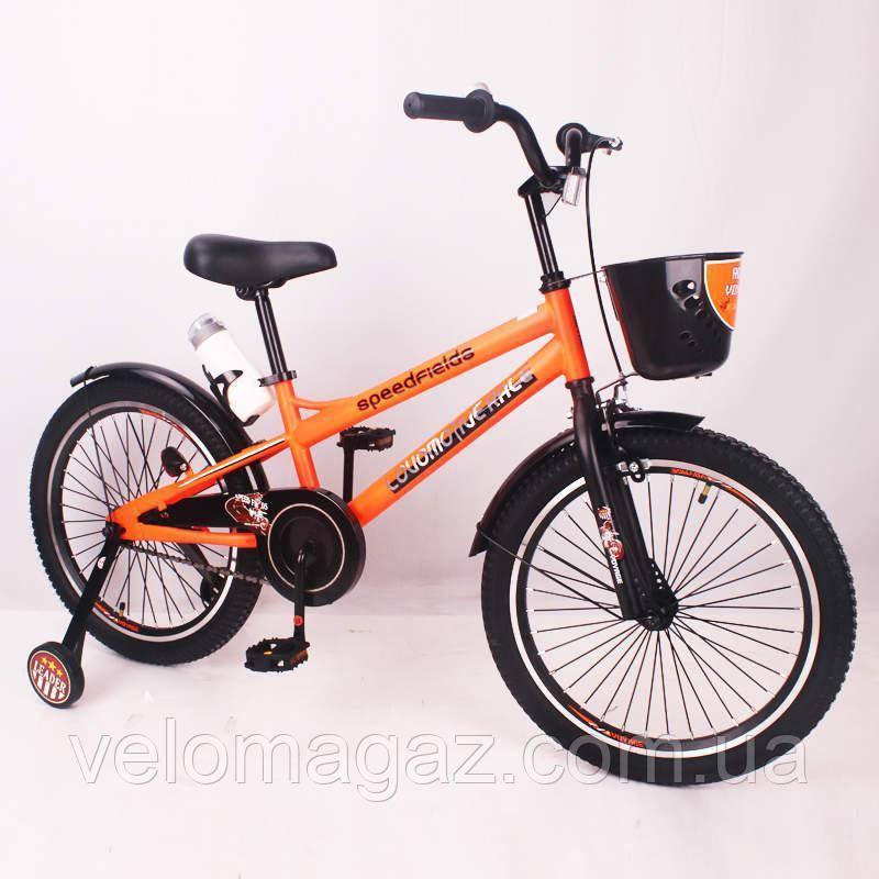 "Детский велосипед SIGMA SPEED FIEIDS-20"" orange"