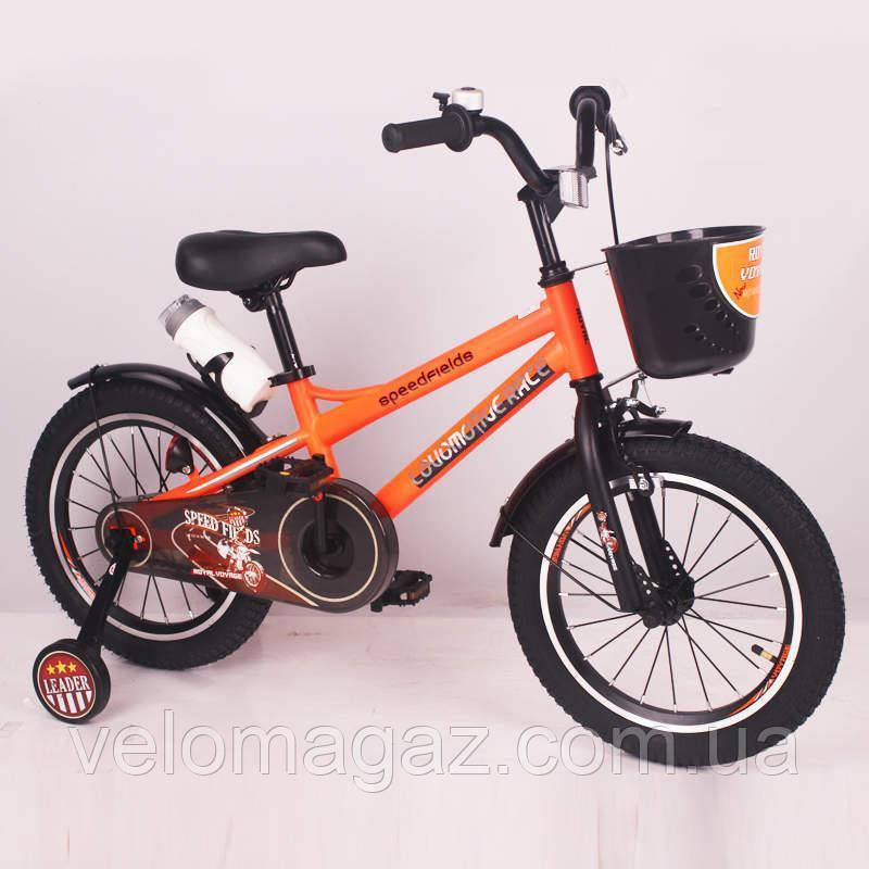 "Детский велосипед SIGMA SPEED FIEIDS-16"" orange"
